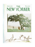 The New Yorker Cover - July 26  1982
