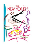 The New Yorker Cover - January 6  1968