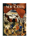 The New Yorker Cover - December 13  1941