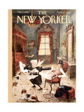 The New Yorker Cover - March 1  1958