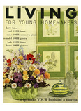 Living for Young Homemakers Cover - July 1960