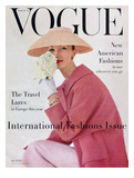 Vogue Cover - March 1956