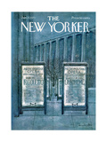 The New Yorker Cover - January 27  1973