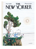 The New Yorker Cover - August 14  1965