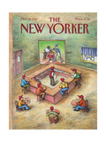 The New Yorker Cover - October 19  1987