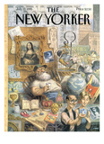The New Yorker Cover - July 17  1995