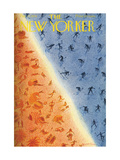 The New Yorker Cover - February 27  1954