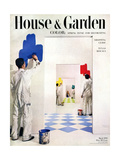 House & Garden Cover - March 1950