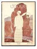 Vogue Cover - January 1924