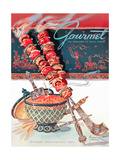 Gourmet Cover - September 1948