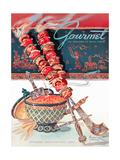 Gourmet Cover - September 1948