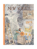 The New Yorker Cover - November 1  1947