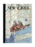 The New Yorker Cover - August 7  1937