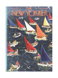 The New Yorker Cover - August 9  1952