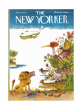 The New Yorker Cover - February 10  1975