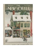 The New Yorker Cover - December 21  1946