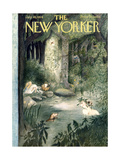 The New Yorker Cover - July 10  1954