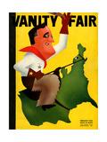 Vanity Fair Cover - February 1934