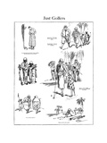 The American Golfer Cartoon November 29  1924
