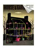 House & Garden Cover - March  1938
