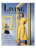 Living for Young Homemakers Cover - July 1950