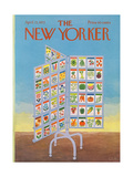 The New Yorker Cover - April 22  1972
