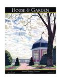 House & Garden Cover - January 1926