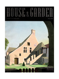 House & Garden Cover - July 1936