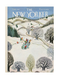 The New Yorker Cover - February 1  1947