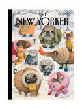 The New Yorker Cover - February 8  2010