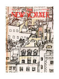 The New Yorker Cover - November 21  1977