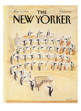 The New Yorker Cover - March 12  1984