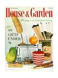 House & Garden Cover - November 1957