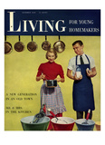 Living for Young Homemakers Cover - October 1950
