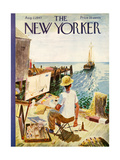 The New Yorker Cover - August 2  1947