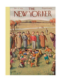 The New Yorker Cover - October 17  1936