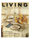 Living for Young Homemakers Cover - May 1956