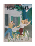 The New Yorker Cover - August 26  1944