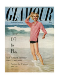 Glamour Cover - May 1954