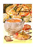 Gourmet Cover - October 1948