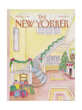 The New Yorker Cover - December 22  1986