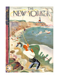 The New Yorker Cover - August 28  1937