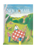 The New Yorker Cover - August 31  1992