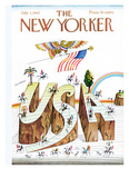 The New Yorker Cover - July 1  1967