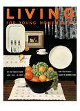 Living for Young Homemakers Cover - April 1953