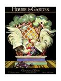 House & Garden Cover - February 1924