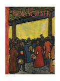 The New Yorker Cover - December 12  1953