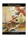 House & Garden Cover - October 1917