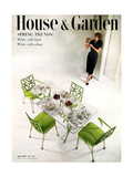 House &amp; Garden Cover - April 1951