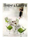 House & Garden Cover - April 1951